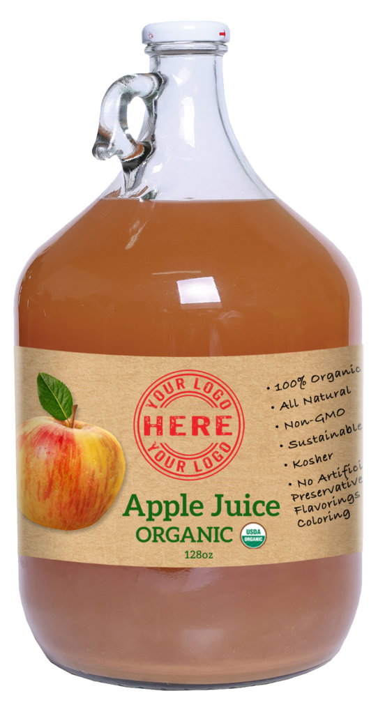 128oz Manzana Organic Apple Juice