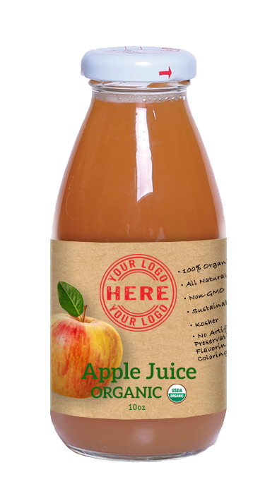 10oz Manzana Organic Apple Juice