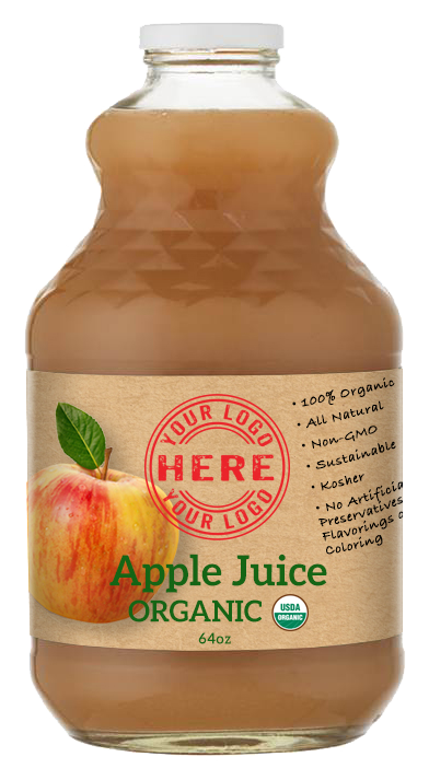 64oz Manzana Organic Apple Juice