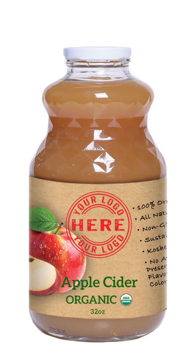32oz Manzana Organic Apple Cider