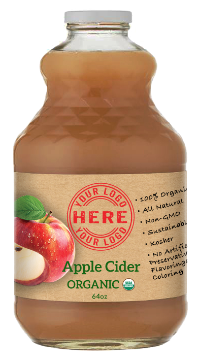 64oz Manzana Organic Apple Cider