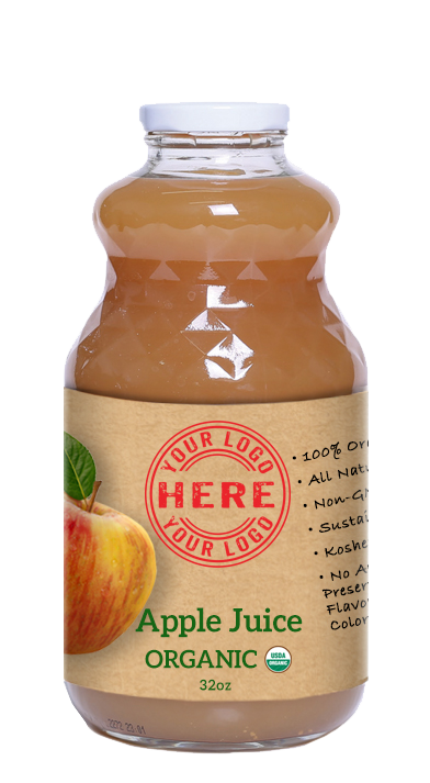 32oz Manzana Organic Apple Juice