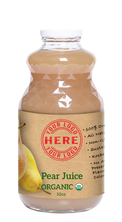 32oz Manzana Organic Pear Juice