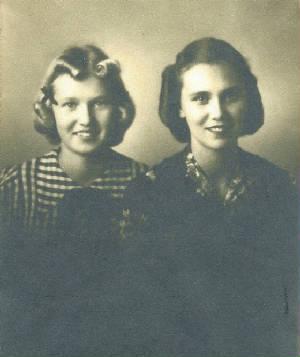 Edith and Constance Oehlmann