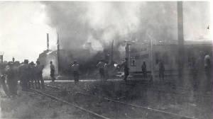 Catashrophic fire of Oehlmann Evaporators