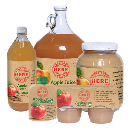 Manzana organic apple pouches
